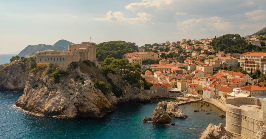 Cảnh đánh bạc trực tiếp ở Croatia